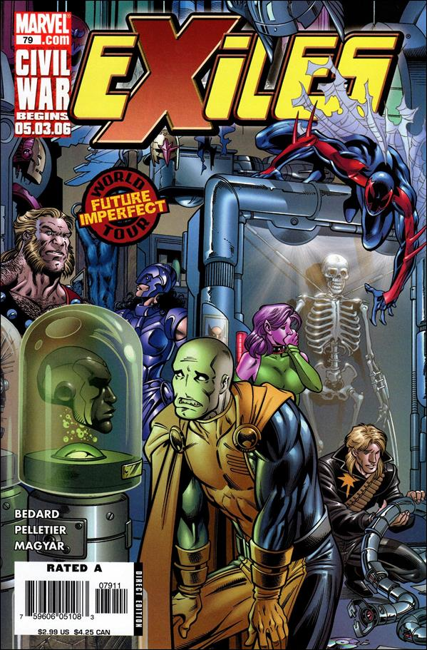 Exiles (2001) 79-A by Marvel