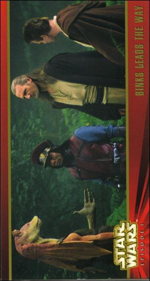 Star Wars: Episode I Widevision: Series 1 (Base Set) 61-A by Topps