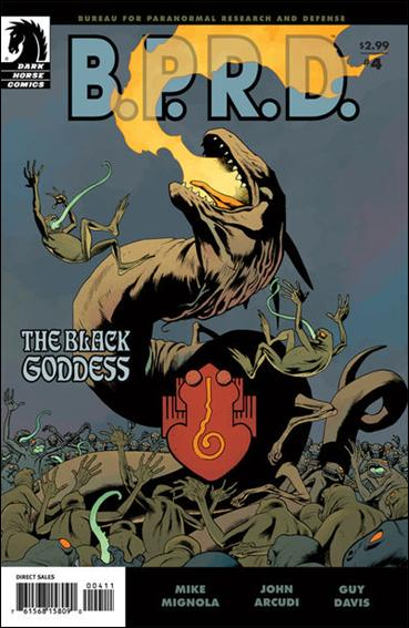 B.P.R.D.: The Black Goddess 4-A by Dark Horse