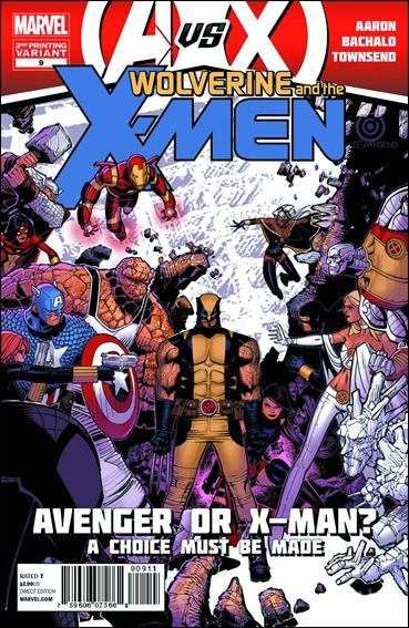 Wolverine & the X-Men 9-C by Marvel