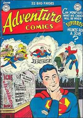 Adventure Comics (1938) 152-A by DC