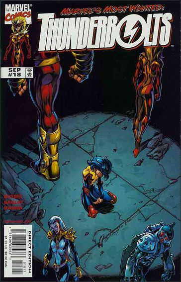 Thunderbolts (1997) 18-A by Marvel