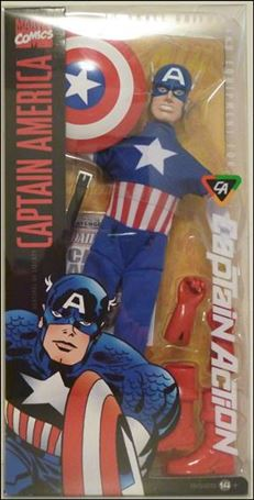 Captain Action (2012) Captain America (Basic)