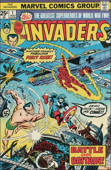 Invaders (1975) 1-A by Marvel