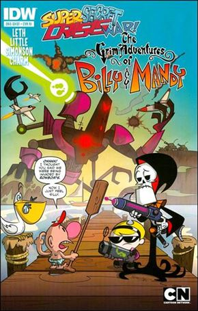 Super Secret Crisis War! The Grimm Adventures of Billy and Mandy 1-C