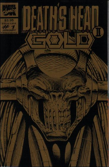 Death's Head II Gold (UK) 1-A by Marvel UK