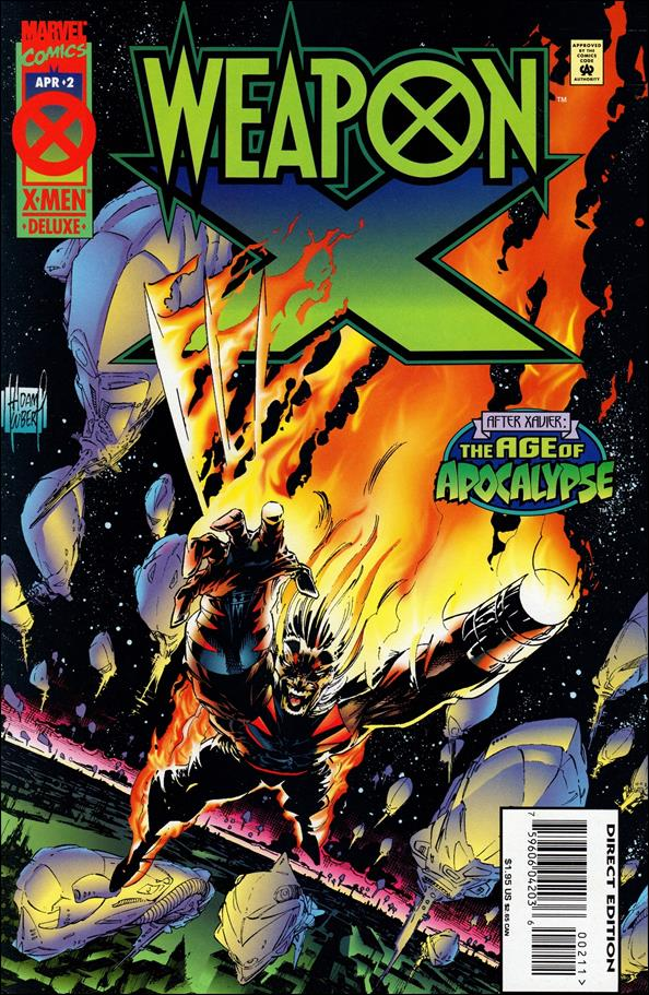 Weapon X (1995) 2-A by Marvel
