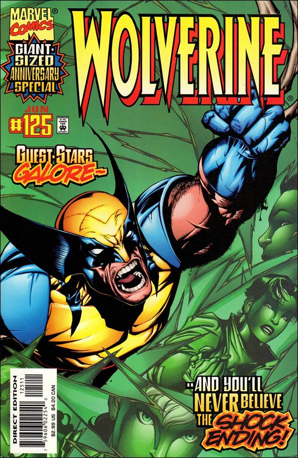 Wolverine (1988)  125-A by Marvel