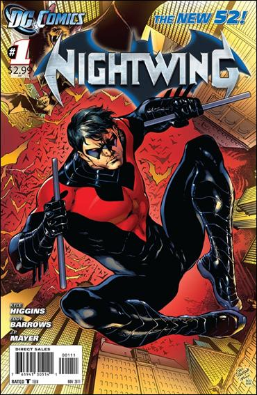 Nightwing (2011) 1-A by DC