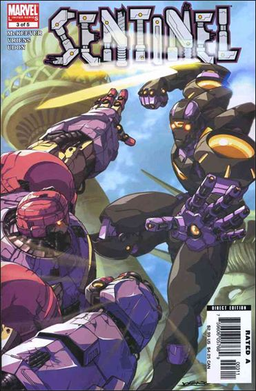 Sentinel (2006) 3-A by Marvel