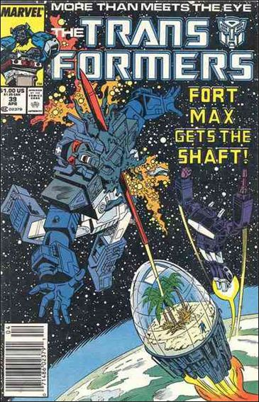 Transformers (1984) 39-A by Marvel