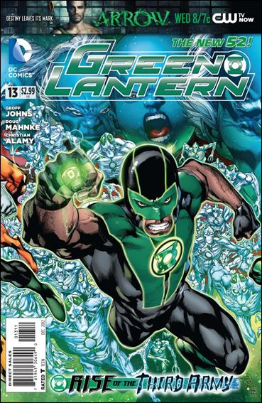 Green Lantern (2011) 13-A by DC