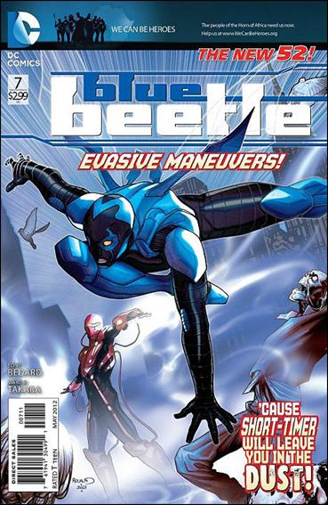 Blue Beetle (2011) 7-A by DC