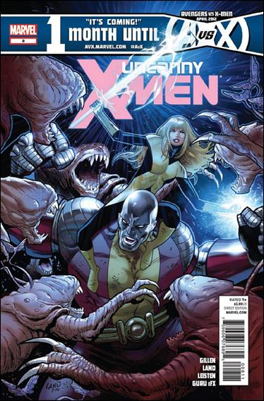 Uncanny X-Men (2012) 8-A by Marvel