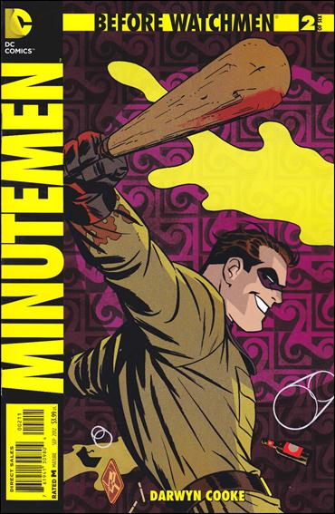 Before Watchmen: Minutemen 2-A by DC