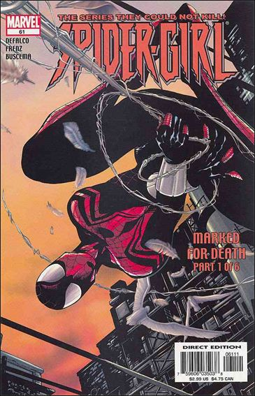 Spider-Girl (1998) 61-A by Marvel