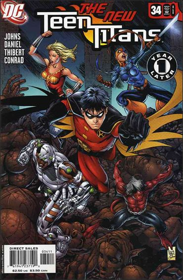 Teen Titans (2003) 34-A by DC