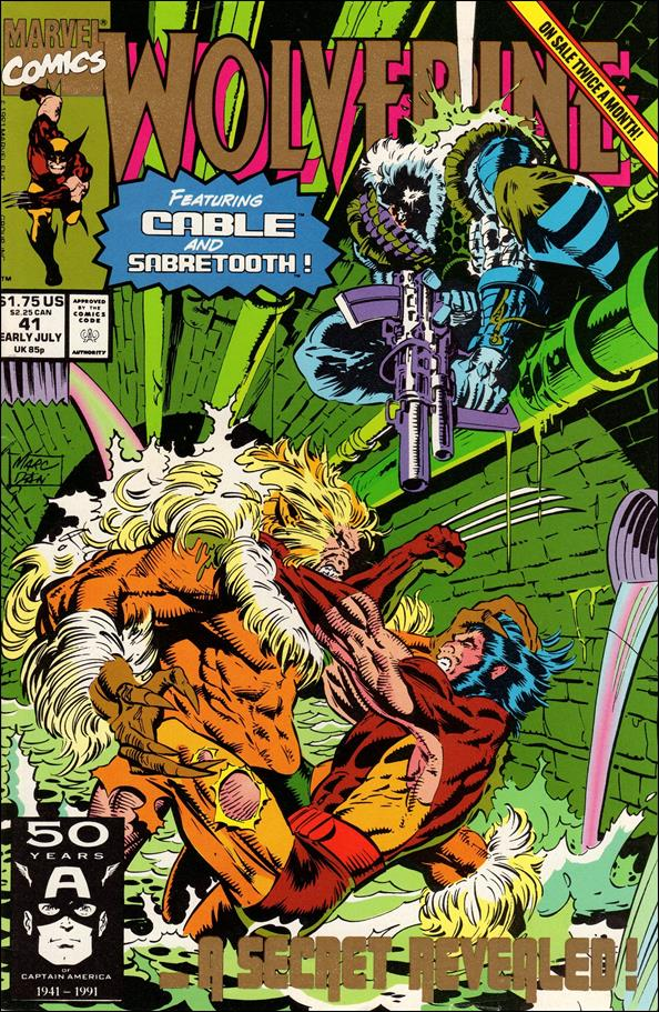 Wolverine (1988)  41-B by Marvel
