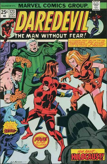 Daredevil (1964) 123-A by Marvel