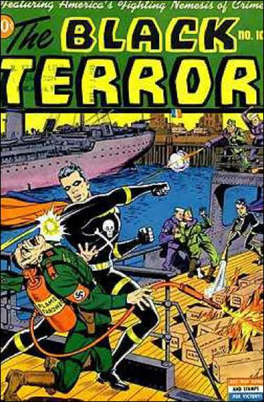 Black Terror (1942) 10-A by Nedor