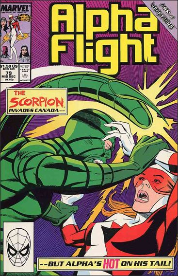 Alpha Flight (1983) 79-A by Marvel