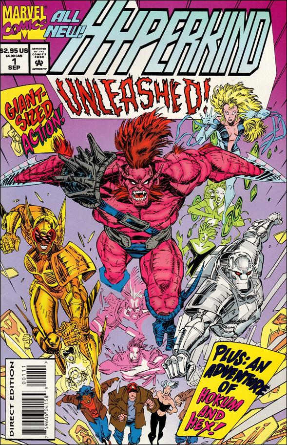 Hyperkind: Unleashed! 1-A by Marvel