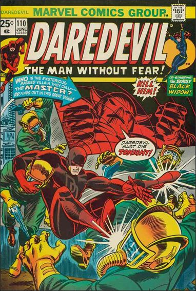 Daredevil (1964) 110-A by Marvel
