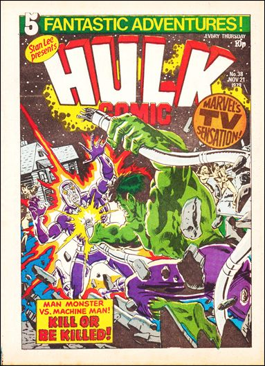 Hulk Comic (UK) 38-A by Marvel UK