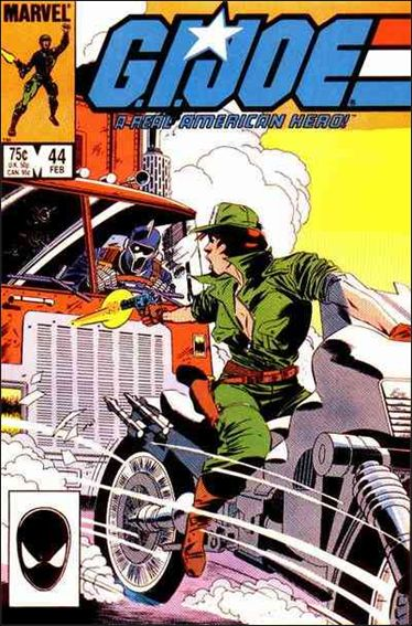 G.I. Joe: A Real American Hero 44-A by IDW