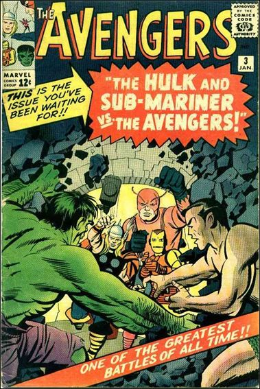 Avengers (1963) 3-A by Marvel