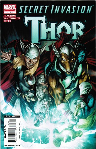 Secret Invasion: Thor 3-A by Marvel