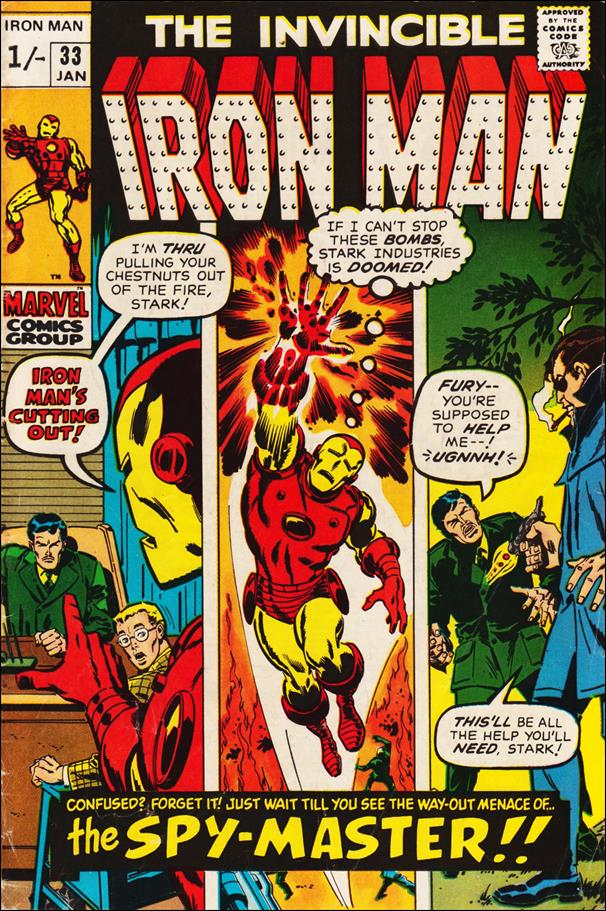Iron Man (1968) 33-B by Marvel