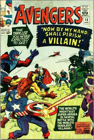 Avengers (1963) 15-A by Marvel