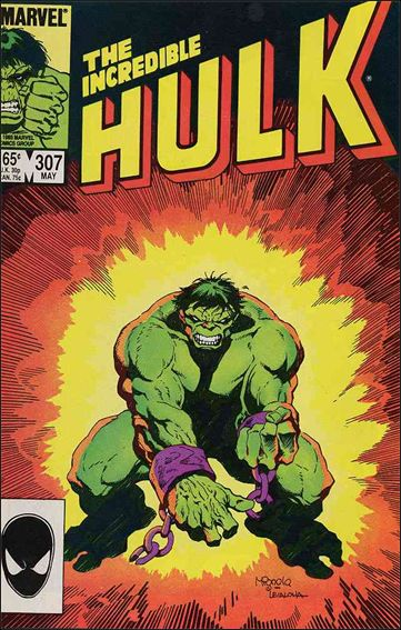 Incredible Hulk (1968) 307-A by Marvel