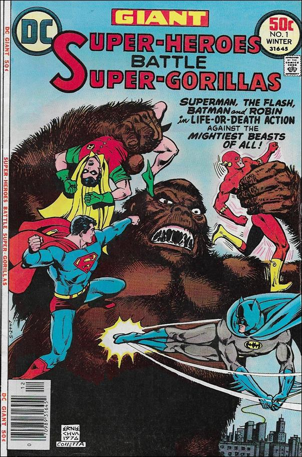 Super-Heroes Battle Super-Gorillas 1-A by DC