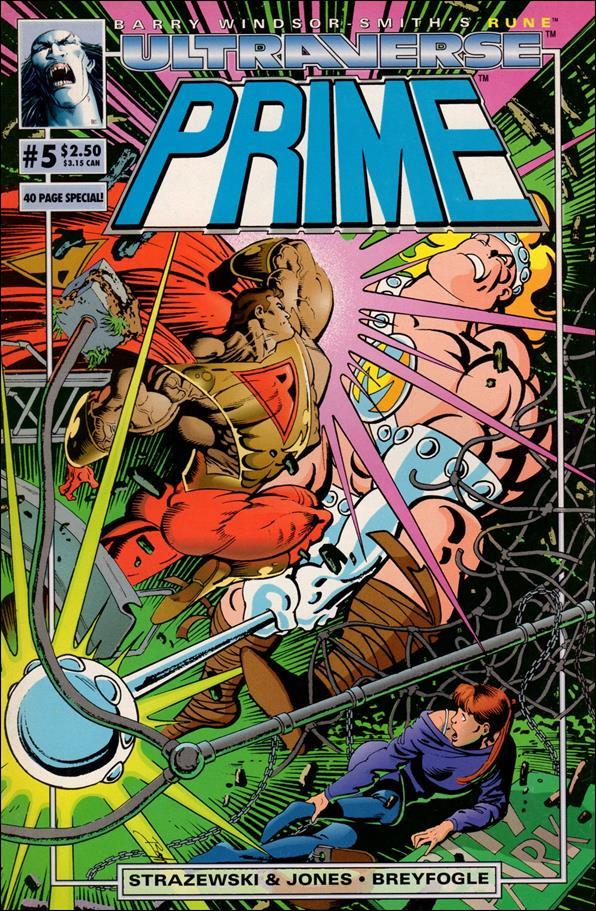 Prime (1993) 5-A by Malibu