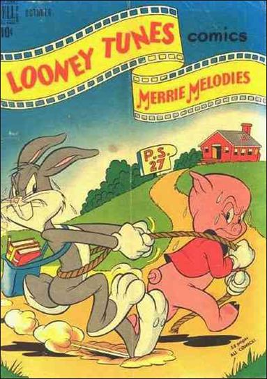 Looney Tunes and Merrie Melodies 96-A by Dell