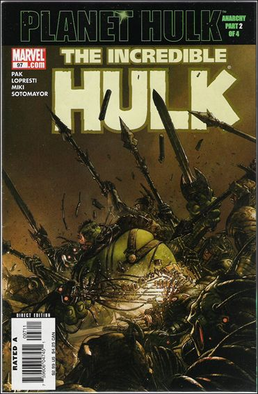 Incredible Hulk (2000)  97-A by Marvel