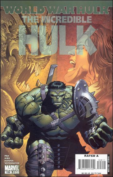 Incredible Hulk (2000)  108-A by Marvel