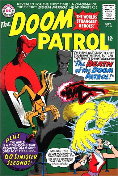 Doom Patrol (1964) 98-A by DC