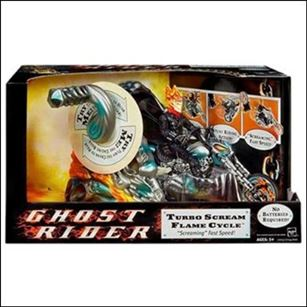 Ghost Rider Movie Ghost Rider Turbo Scream Flame Cycle