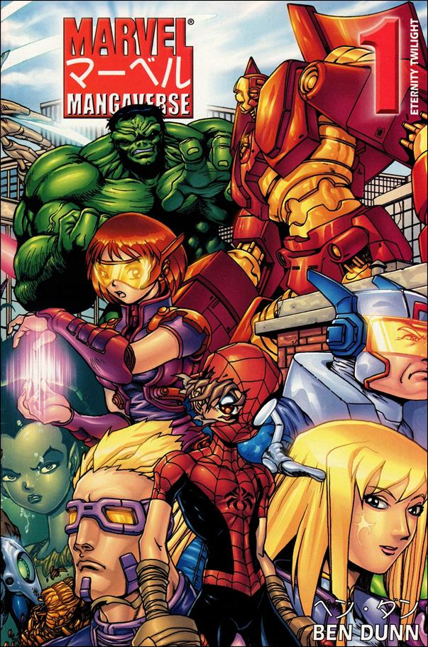 Marvel Mangaverse: Eternity Twilight 1-A by Marvel