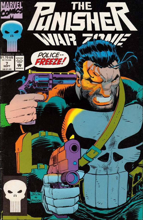 Punisher: War Zone (1992) 7-A by Marvel