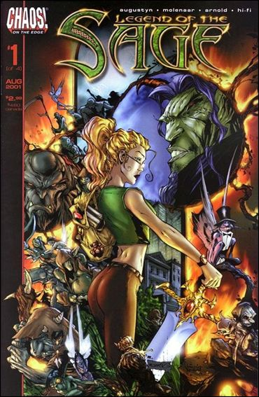 Legend of the Sage 1-A by Chaos! Comics