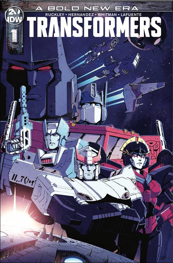 Transformers (2019) 1-C by IDW