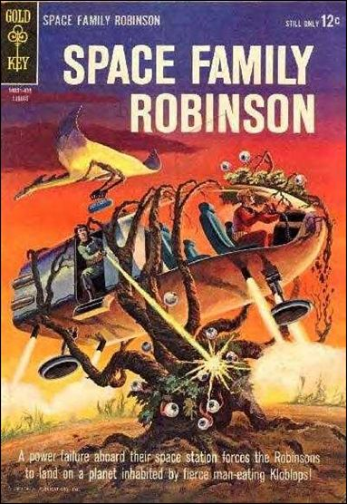 Space Family Robinson 9-A by Gold Key