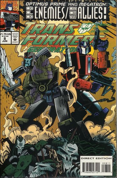 Transformers: Generation 2 (1993) 8-A by Marvel