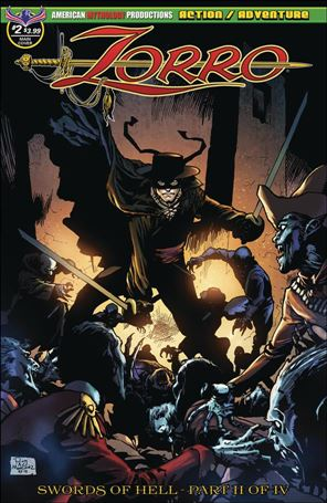 Zorro: Swords of Hell 2-A