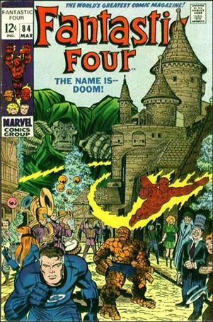 Fantastic Four (1961) 84-A