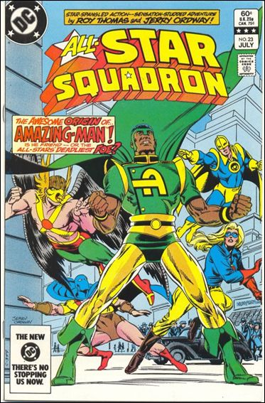 All-Star Squadron 23-A by DC